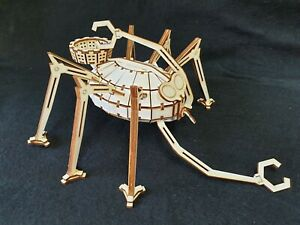 War Of The Worlds 'Ground Ship' by HG Wells Wooden Laser Cut Model/Puzzle Kit