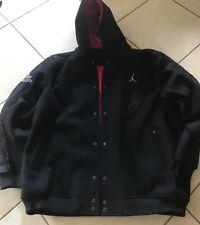 Nike Air Jordan Championship Jacket Black Red Men's 3XL Vintage Rare 286905 010