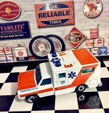 🏁 Matchbox 1977 Vintage Ambulance E-11 Paramedic Emergency 🏁