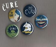 The Cure - Robert Smith - 5 X 31 mm Button Badges Set 2