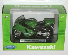 Welly - 2001 KAWASAKI NINJA ZX-12R Motorbike Model Scale 1:18