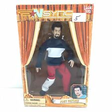 Joey Fatone 2000 Nsync Collectible Toy Marionette Doll Living Toyz New - V01