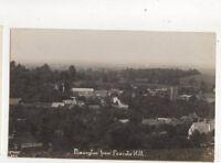 Ilmington From Foxcote Hill Warwickshire Vintage RP Postcard 293b