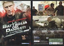 LA BATTAGLIA DEI DANNATI - DVD (USATO EX RENTAL) DOLPH LUNDGREN