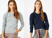 M&S Marks Spencer Cashmillon Women ROUND NECK Jumper Sweater Top 12 14 16 18 20