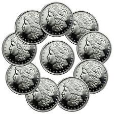 Lot of 5 - Highland Mint Morgan Dollar Design 1/2 oz. Silver Round USA SKU47768