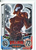 Marvel Hero Attax Series 2 Base Card #120 Carnage