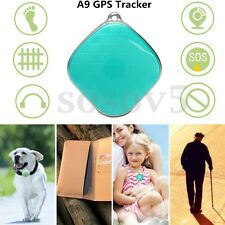 A9 Mini Quad Band GSM GPS Locator Tracker 2-Way Talk For Elder Kids Pets Car