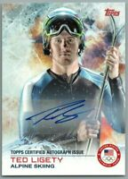 2014 Topps U.S. Olympic Team Autographs #56 Ted Ligety