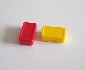 Playmobil r1192 trade-lot of 2 packs of retains light grey 3200