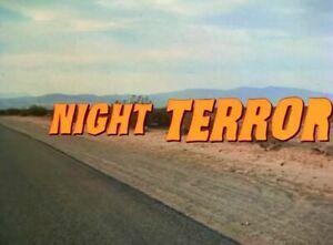 Night Terror - 1977 aka Night Drive. Stars Valerie Harper (UK/Euro disc only)