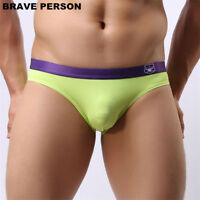 Men Briefs Brand Sexy Underwear Briefs Low Waist Underpants Briefs Nylon Fabric