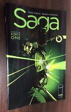 SAGA #41 -- Recalled Error Edition -- Brian K Vaughan -- Free Shipping!