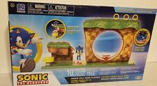 2020 Sonic The Hedgehog Green Hill Playset with Sonic Figure 10 Piece Set NEW