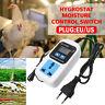 Digital Humidity Controller Hygrostat Moisture Control Switch Socket 110V-220V
