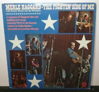 MERLE HAGGARD THE FIGHTIN' SIDE OF ME (VG+) ST-451 LP VINYL RECORD
