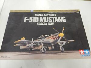 Tamiya 1/72 scale Warbird collection no54 F-51D Mustang korean war