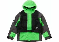 Supreme The North Face RTG Jacket + Vest Bright Green Brand New