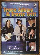NEW/SEALED Trace Adkins Travis Tritt Soundstage Presents DVD  2004