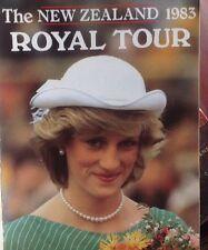 Princess Diana Prince Charles New Zealand Royal Tour 1983 Softcover Book Rare