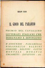 GIANI Renato, Il gioco del paradiso