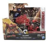 Hasbro Transformers The Last Knight CyberFire Scorn Turbo Changer 1-Step Dinobot
