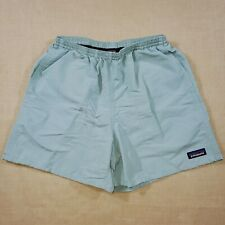 """Patagonia Baggies 5"""" Inseam Men's Size Small Shorts Light Blue Lined Swim Trunks"""