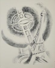 Robert DELAUNAY - lithographie originale - Paris, la Tour et le Champ de Mars