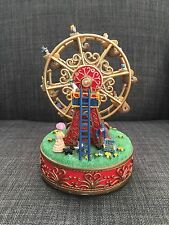 International Resources 1999 Ah777 Liberty Fall Ferris Wheel Music Box Figurine
