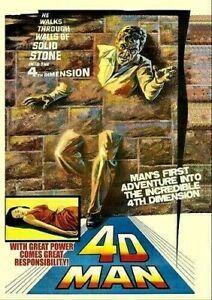 4D Man - DVD - Robert Lansing - Patty Duke - New & Sealed