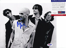 MIKE MILLS REM SIGNED AUTOGRAPH 8X10 PHOTO PSA/DNA COA #4