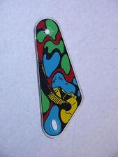 Flipper Williams Alien Poker Droit slingshot kicker Original Flipper Keyfob
