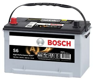 Battery-Agm - Automotive Auxiliary Bosch S6590B