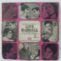 Love Marriage EP Record Classic Hindi Film Rare Vinyl 1979 Bollywood Indian VG+