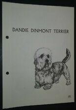 Dandie Dinmont Terrier Ras Kennel Control Breed Standards M Davidson Ill