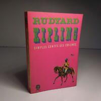 RUDYARD KIPLING 1968 Simples contes des collines Stock littérature France N6572