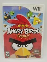 Angry Birds Trilogy (Nintendo Wii, 2013) Complete Tested