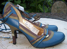 Business 100% Leather Mary Janes Shoes for Women