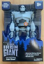 Iron Giant figure Large New Walking Lights Sound Walmart exclusive Fast Ship