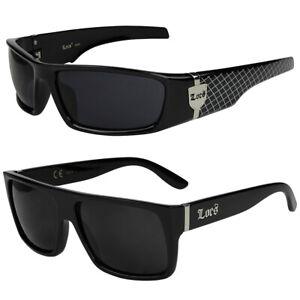 2er Pack Locs 91022 Choppers Sonnenbrille Herren Damen Nerd Brille schwarz