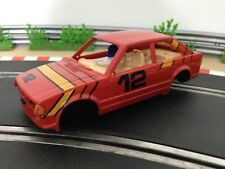 Scalextric Car Ford Escort XR3i Red No12 C341 Body Shell Interior Cabin Chassis