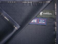 DORMEUIL 100% SUPER LUSSO LANA ingresso siano consone tessuto da DORMEUIL-Made in England - 3,4 m