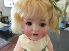 New ListingAntique German Kestner Doll Jdk 260 Bisque & Composition Ball Jointed SleepyEyes