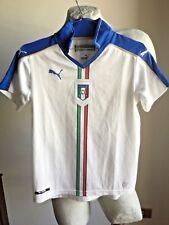 MAGLIA CALCIO ITALIA PUMA 2016 AWAY TRIKOT FOOTBALL SHIRT JERSEY YOUNG