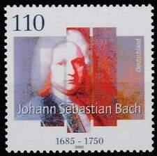 Duitsland Bund postfris 2000 MNH 2126 - Johannes Sebastian Bach