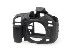 EasyCover Pro Silicona Skin Camera Armor Funda para adaptarse a Nikon D600/610 Dslr-Negro