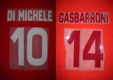 KIT DI MICHELE 10 O GASBARRONI 14 X MAGLIA CALCIO TORINO KAPPA NUOVO