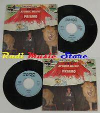"""LP 45 7"""" PRIAM ATOMIC MUSIC BIKINI 1984 Cannizzaro Enregistrements De Dingo DR"""