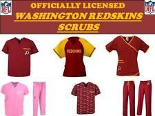Washington Redskins Scrub Top-Washington Redskins Scrub Pants-Redskins Scrubs