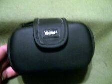 Vivitar Black Camera Zipper Bag Case with Belt Holder